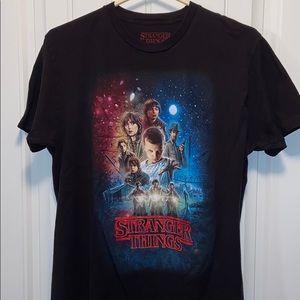 Stranger things T-shirt large